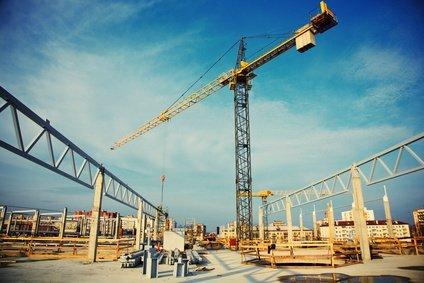 תמונה של אתר בניה
